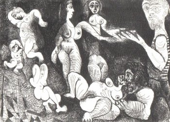 Pablo Picasso - late etchings and engravings