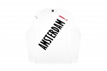 Amsterdam! Patta T-shirt [white, long sleeve], 2014