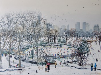 <span class=&#34;artist&#34;><strong>Emma Haworth</strong></span>, <span class=&#34;title&#34;><em>Central Park II</em>, 2017</span>