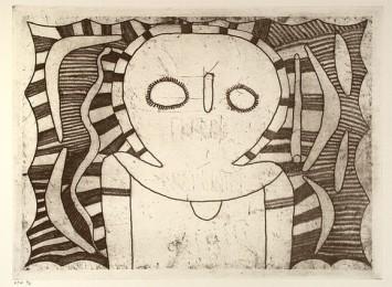 <span class=&#34;artist&#34;><strong>Louis Karadada</strong></span>, <span class=&#34;title&#34;><em>Wandjina figure</em>, 1998</span>