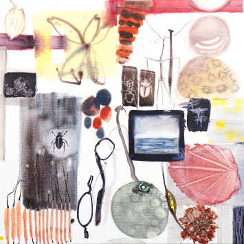<span class=&#34;artist&#34;><strong>Allyson Reynolds</strong></span>, <span class=&#34;title&#34;><em>Pink shell</em>, 2017</span>