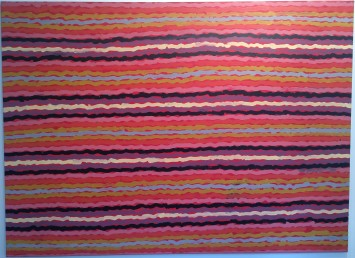 <span class=&#34;artist&#34;><strong>Clifford Possum Tjapaltjarri</strong></span>, <span class=&#34;title&#34;><em>Spear Dreaming - South of Naperby</em></span>