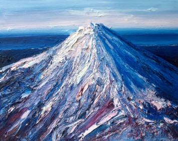 <span class=&#34;artist&#34;><strong>Holly Zandbergen</strong></span>, <span class=&#34;title&#34;><em>Mt Taranaki in Winter </em>, 2017</span>