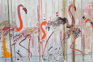 """<span class=""""artist""""><strong>Mersuka Dopazo and Teresa Calderón</strong></span>, <span class=""""title""""><em>Satu dua tiga empat</em>, 2017</span>"""