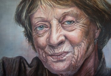 <span class=&#34;artist&#34;><strong>Derren Brown</strong></span>, <span class=&#34;title&#34;><em>Maggie Smith</em>, 2014</span>