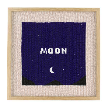 <span class=&#34;artist&#34;><strong>Rose Blake</strong></span>, <span class=&#34;title&#34;><em>Moon (All the Blue in the World)</em>, 2018</span>