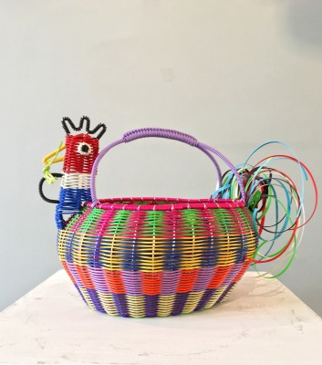 "<span class=""artist""><strong>Mexican Artisan Collective</strong></span>, <span class=""title""><em>Large Chicken Multicolour </em></span>"