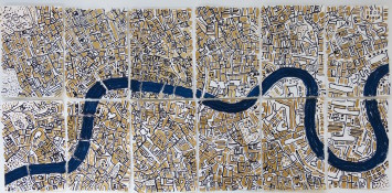 "<span class=""artist""><strong>Barbara Macfarlane</strong></span>, <span class=""title""><em>Gold London </em>, 2017</span>"