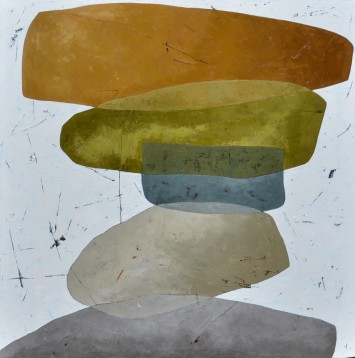 "<span class=""artist""><strong>Richard Nott</strong></span>, <span class=""title""><em>Stones</em>, 2018</span>"