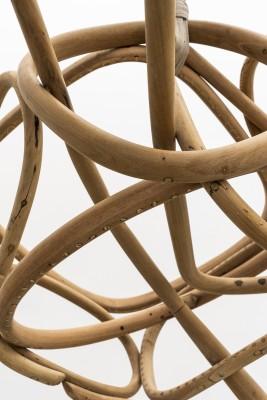 Marcelo Silveira Compacto com pacto #06 [detail], 2018 madeira 50 x 110 x 90 cm
