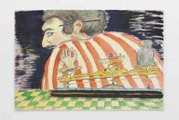 milton machado, mão pesada from the series desenhos raivosos, 1976
