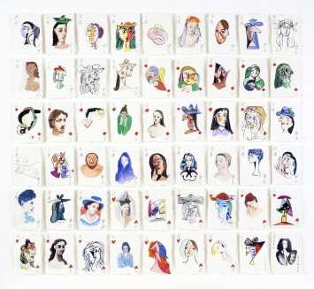 <p><b>Holly Frean,&#160;</b><i>A Pack of Picasso's Women No.3</i><span>, 2015</span></p>