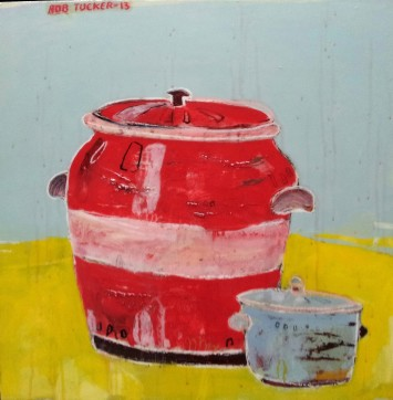 <p><b>Rob Tucker, </b><i>Untitled Pots</i>, 2013</p>