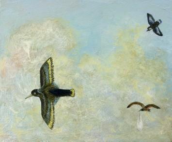 <p><b>Alasdair Wallace,&#160;</b><i>Fragment of the Great Flock</i><span>, 2008</span></p>
