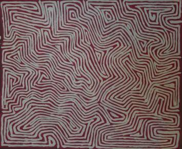 <p><b>George Tjungurrayi,&#160;</b><span>Untitled, 2014</span></p>