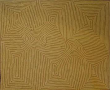 <p><b>George Tjungurrayi,&#160;</b><span>Untitled, 2013</span></p>
