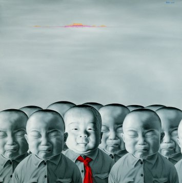 In the fundraiser: Chen Yu, Untitled 2009 Series No.6, 76 x 76 cm, Screen Print, 2012