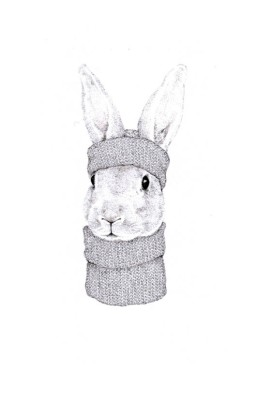 <span class=&#34;artist&#34;><strong>Jackie Case</strong></span>, <span class=&#34;title&#34;><em>Knitted Bunny</em>, 2016</span>