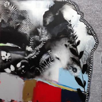 <span class=&#34;artist&#34;><strong>Emily Filler</strong></span>, <span class=&#34;title&#34;><em>Black + White + Rainbow (I)</em>, 2015</span>