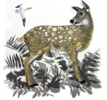 <span class=&#34;artist&#34;><strong>Karen Nicol</strong></span>, <span class=&#34;title&#34;><em>Deer Girl</em>, 2014</span>