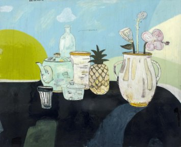 <span class=&#34;artist&#34;><strong>Rob Tucker</strong></span>, <span class=&#34;title&#34;><em>A study for a delightful still life, blueberry jam style</em>, 2013</span>