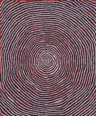 <span class=&#34;artist&#34;><strong>Charlie Tjapangati</strong></span>, <span class=&#34;title&#34;><em>Manakurranya</em>, 2016</span>
