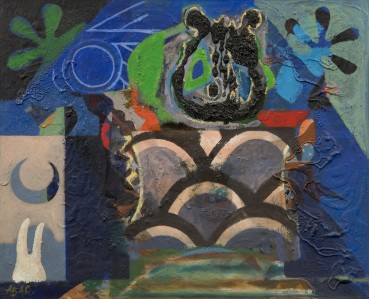 Eileen Agar RA  Wisdom Tooth, 1960s (c.)  Acrylic on board  58 x 69 cm  Signed lower left; titled verso