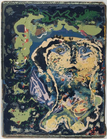 Eileen Agar RA  Portrait, 1949 (c.)  Oil on board  91 x 68 cm  Signed lower right; signed, dated and titled verso