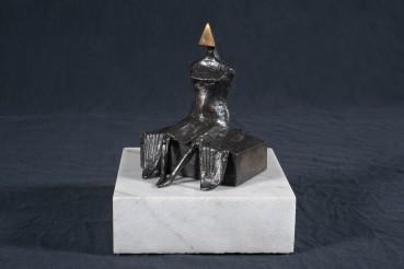 Lynn Chadwick  Seated Woman, 1986  Bronze  14 cm  Edition 4 of 9