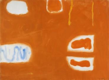 William Scott  Untitled, 1961  Gouache on paper  57 × 79 cm