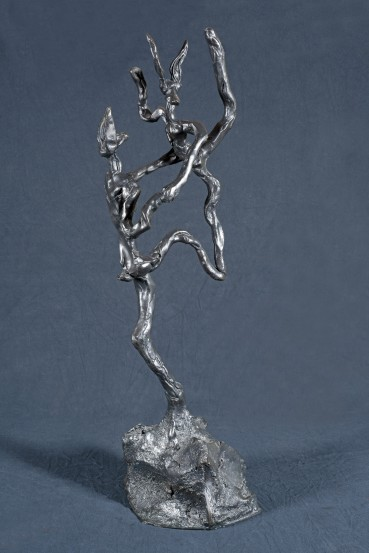 Barry Flanagan  Tango, 2001  Bronze  61 x 15 x 28 cm  Cast no 1 from the edition of 8