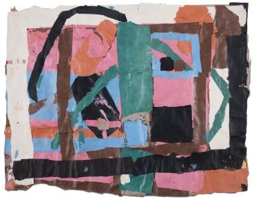 Francis Davison  G 610  Collage  95 x 120 cm