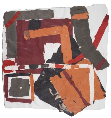 Francis Davison  H 1  Collage  95 x 93.5 cm