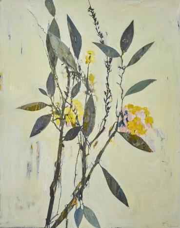 Ffiona Lewis  Garden Umber, 2020  Oil on Canvas  150 x 120 cm