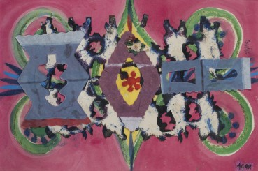 Eileen Agar  Paper Lantern  Collage on paper  25.4 x 34.3 cm
