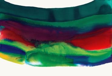 Paul Jenkins  Phenomena Big Sur Take, 1994  Watercolour on paper  78.7 × 104.8 cm