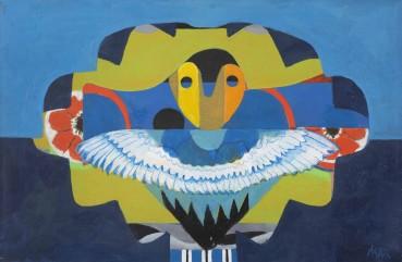 Eileen Agar  Wings of a Child, 1983  Acrylic on canvas  41 x 61 cm