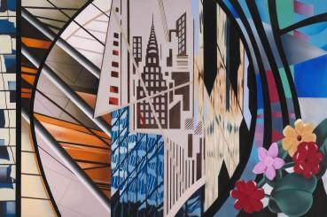 Brendan Neiland  Arcadia, 2020  Acrylic on canvas  120 x 180cm