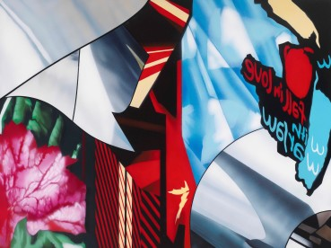 Brendan Neiland  Begonia, 2020  Acrylic on canvas  91 x 122cm