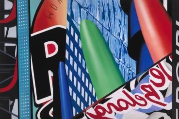 Brendan Neiland  Citadel, 2020  Acrylic on canvas  120 x 180cm