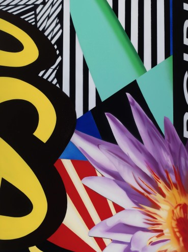 Brendan Neiland  City Bloom, 2019  Acrylic on canvas  122 x 91cm