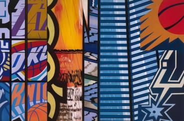 Brendan Neiland  City Spur, 2020  Acrylic on canvas  120 x 180cm