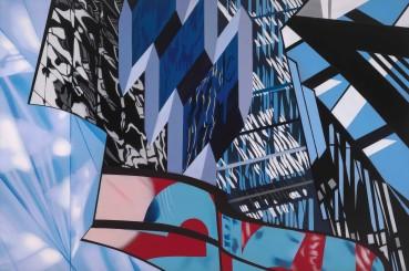 Brendan Neiland  Escalade, 2020  Acrylic on canvas  120 x 180cm