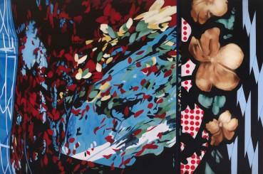 Brendan Neiland  Scherzo, 2021  Acrylic on canvas  120 x 180cm