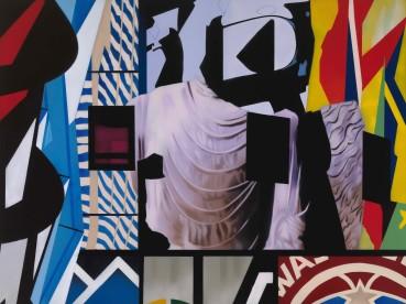 Brendan Neiland  Torso, 2021  Acrylic on canvas  90 x 120cm