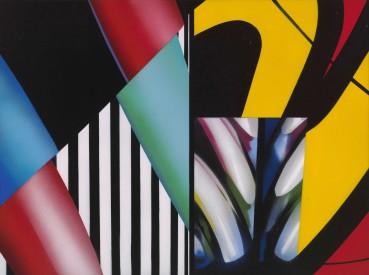 Brendan Neiland  Zest, 2017  Acrylic on canvas  45 x 61cm