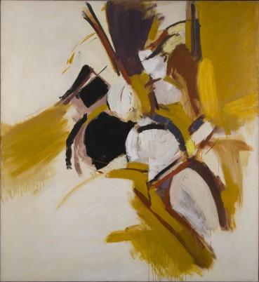 Adrian Heath  Orange and Brown, 1959  Oil on canvas  198 x 182 cm
