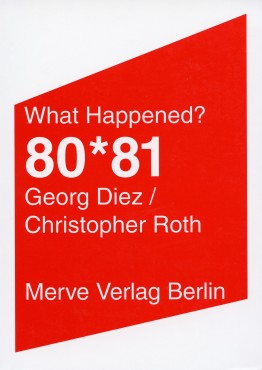 Georg Diez / Christopher Roth