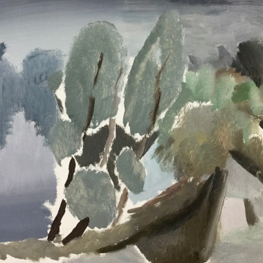 Ivon Hitchens - Willows (Suffolk)