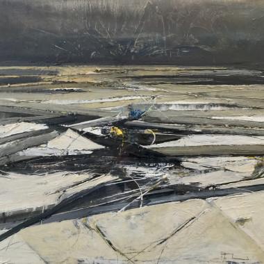 Ffiona Lewis - Winter Sea, Lifted Flotsam, 2017
